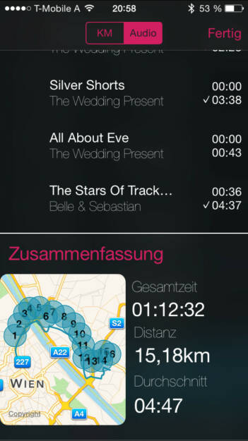 Laufen mit The Wedding Present (17.08.2015)