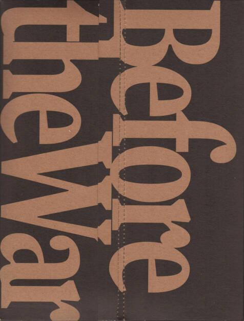 Alejandro Cartagena - Before the War, Self published 2015, Cover - http://josefchladek.com/book/alejandro_cartagena_-_before_the_war, © (c) josefchladek.com (17.08.2015)