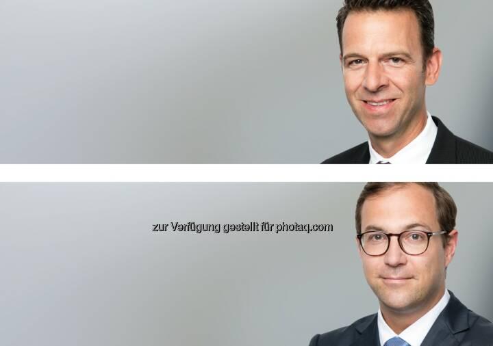 Balz A. Gut (o), Benjamin Rohrmann (u) : Synpulse Management Consulting holt ehemalige Senior Manager der Credit Suisse ins Team : Verstärkung der Bereiche Digital Banking, Advisory und Compliance : © Fotograf: Synpulse Schweiz AG/Fotocredit: obs/Synpulse Schweiz AG