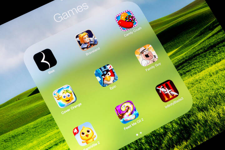 mobile Spiele, iOS, Android, Candy Crush, Icons, <a href=http://www.shutterstock.com/gallery-1481615p1.html?cr=00&pl=edit-00>Radu Bercan</a> / <a href=http://www.shutterstock.com/editorial?cr=00&pl=edit-00>Shutterstock.com</a>