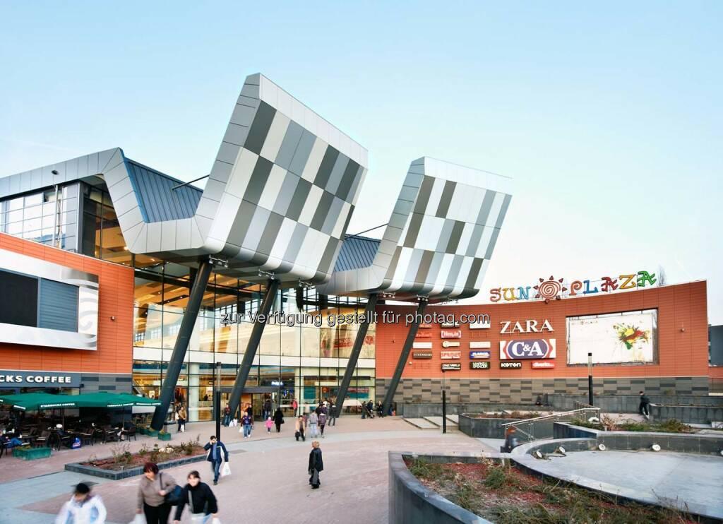 S Immo AG in Bukarest auf Erfolgskurs. Vier neue Mieter im Shoppingcenter Sun Plaza und Sun Offices zu 100 % vermietet. (C) S immo AG, © Aussendung (18.08.2015)