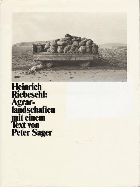 Heinrich Riebesehl - Agrarlandschaften, Schmalfeldt J.H. & Co 1979, Cover - http://josefchladek.com/book/heinrich_riebesehl_-_agrarlandschaften, © (c) josefchladek.com (18.08.2015)