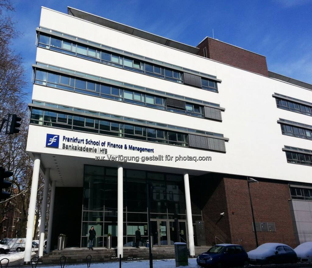Frankfurt School of Finance & Management, © Wikifolio (15.03.2013)
