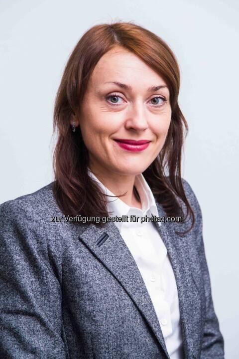 Olena Uljee : mit 19. August 2015 übernimmt Olena Uljee den Vorstandsvorsitz der Uniqa Insurance, der Non-Life Versicherungsgesellschaft in der Ukraine. Uljee folgt Yuriy Yefimov nach, der in den Aufsichtsrat wechselt :  © Uniqa