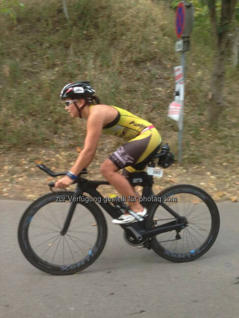 Martina Kaltenreiner, Radfahren, Bike Marchfeld TRI 2015 (19.08.2015)