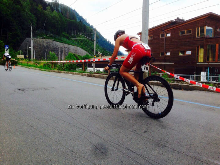 Bike Tri Zell 2015, Martina Kaltenreiner, Radfahren, Triathlon
