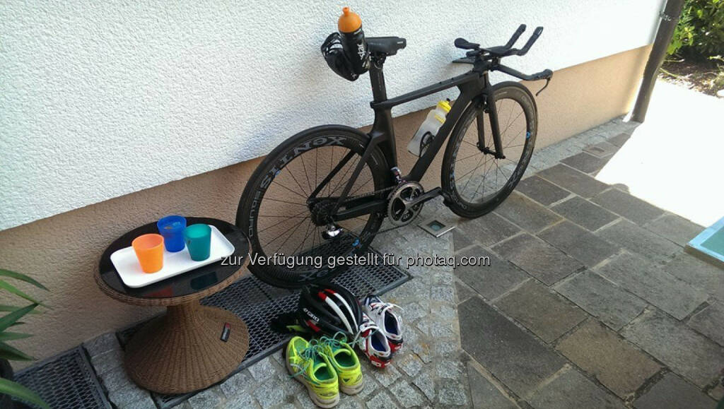 Triathlon, Fahrrad, Schuhe, Koppeltraining in OÖ (19.08.2015)