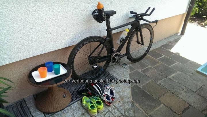 Triathlon, Fahrrad, Schuhe, Koppeltraining in OÖ