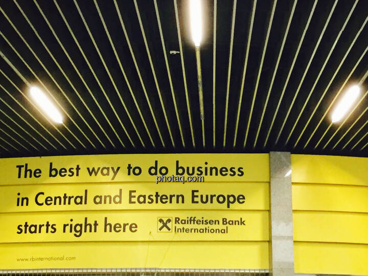 The best way to do business in Central and Eastern Europ starts right here - RBI, Raiffeisen Bank International, CEE