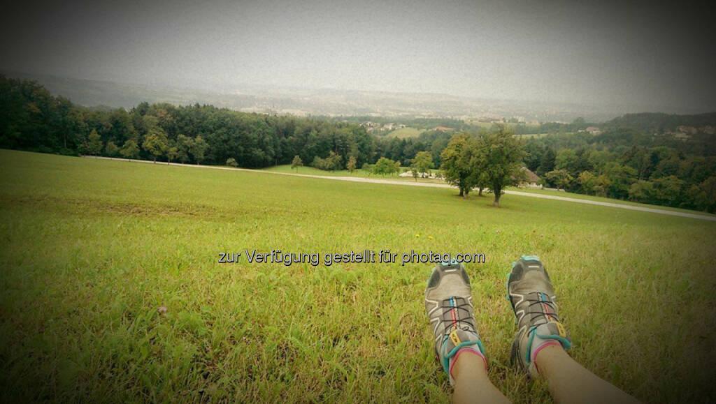 Schuhe, Füße, Berg, relax, entspannen, hinunter, Tal (21.08.2015)