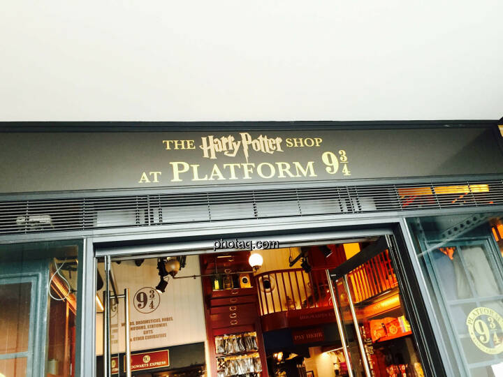 Harry Potter, Plattform 9 3/4, Shop