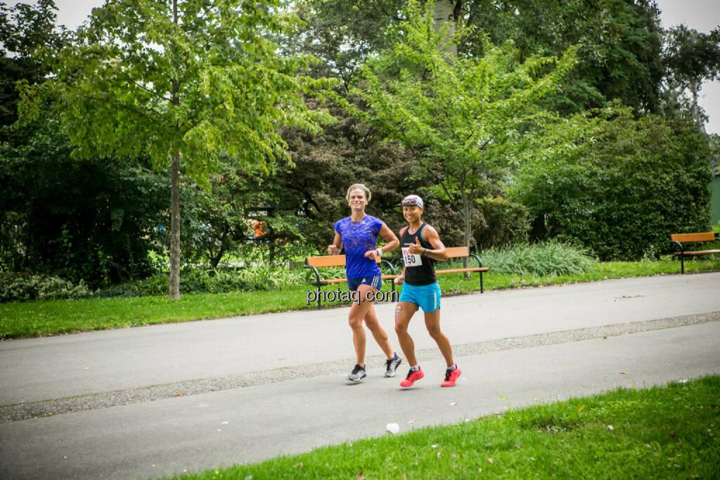 Elisabeth Niedereder, Annabelle Mary Konczer, Tristyle Runplugged Runners, © Martina Draper/photaq.com (23.08.2015)