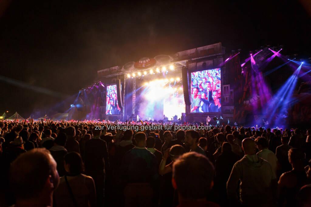 """FM4 Frequency Festival : Zipfer mit Hopfengarten und eigenem Festivalsong sorgten für """"helle Freude"""" : Fotocredit: Brau Union Österreich, © Aussender (24.08.2015)"""