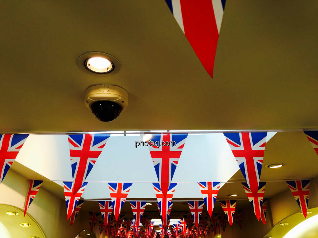 Union Jack, Flagge, UK, London, England, © photaq.com (24.08.2015)