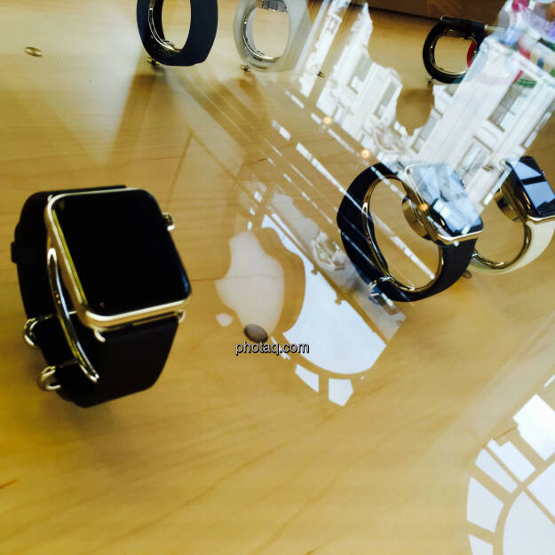 Apple Watch, Apple Logo, © photaq.com (24.08.2015)