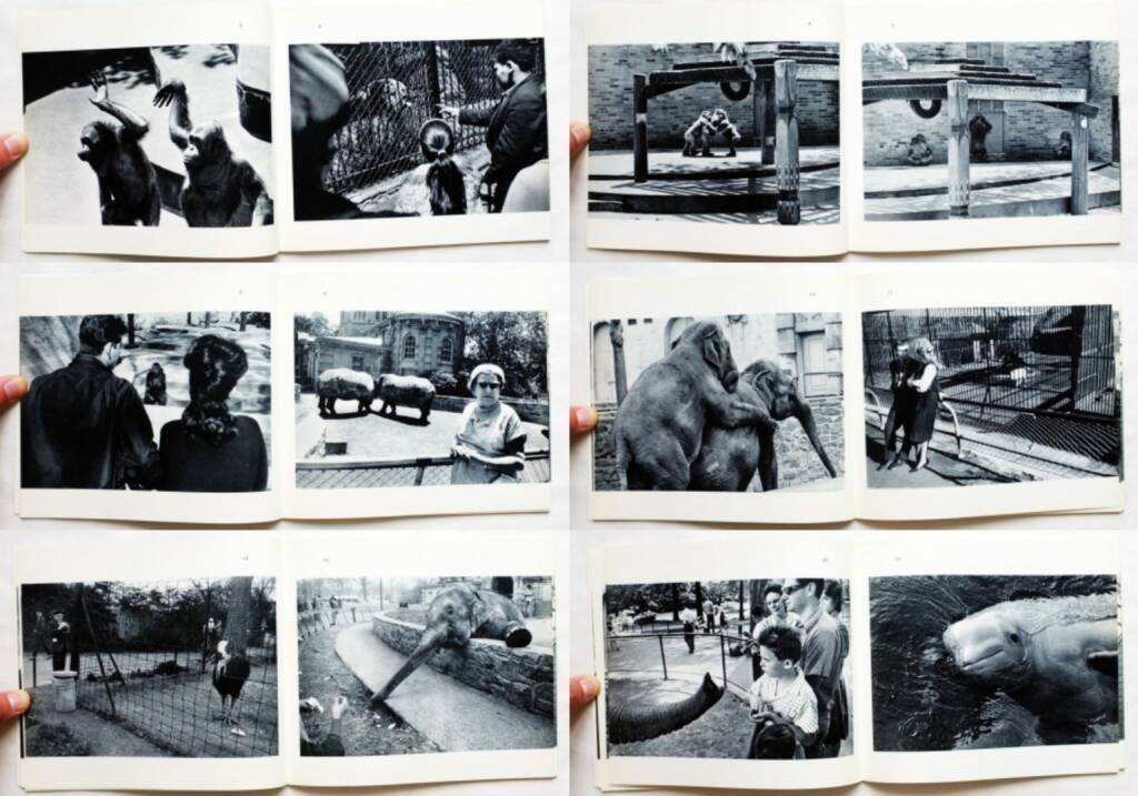 Garry Winogrand - The Animals (Softcover, first edition), The Museum of Modern Art 1969, Beispielseiten, sample spreads - http://josefchladek.com/book/garry_winogrand_-_the_animals_softcover_first_edition, © (c) josefchladek.com (25.08.2015)