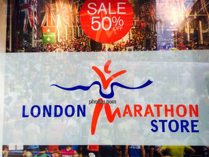 London Marathon Store, 50% Sale