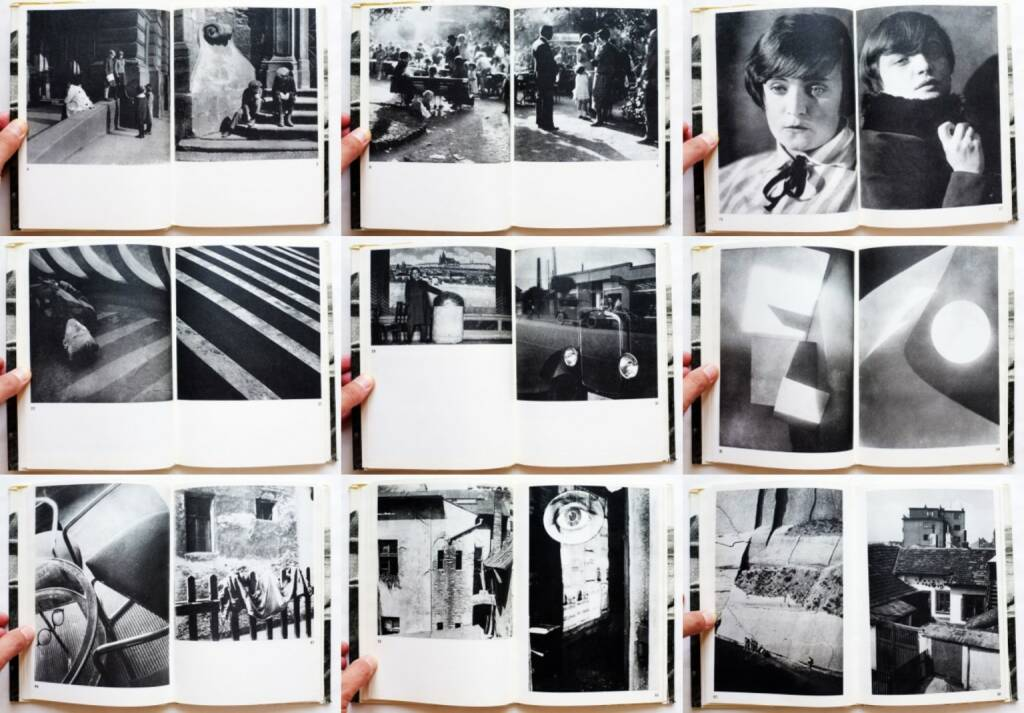 Jaromir Funke - Fotografie, Odeon 1970, Beispielseiten, sample spreads - http://josefchladek.com/book/jaromir_funke_-_fotografie, © (c) josefchladek.com (27.08.2015)