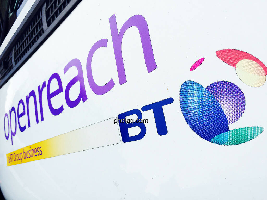 BT British Telecom, Logo, openreach, © photaq.com (27.08.2015)