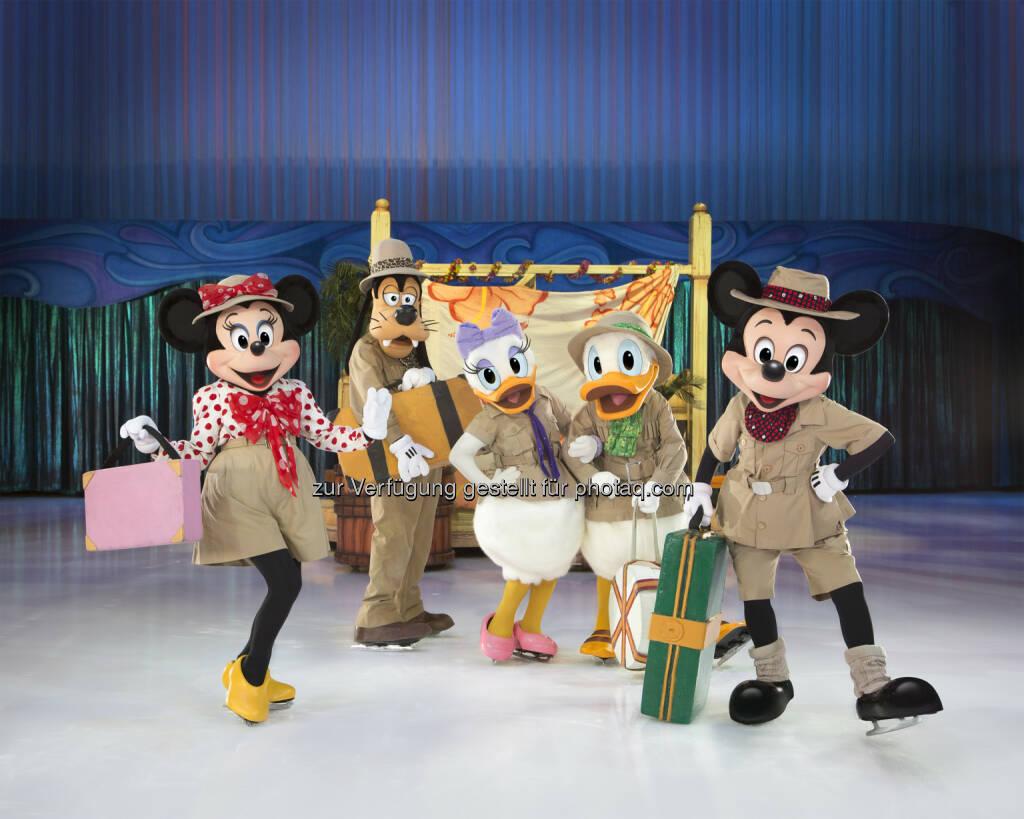 Disney on Ice - Eine fantastische Reise : Die spektakuläre neue Show führt die Lieblingsfiguren aus den Disney Erzählungen im Frühjahr 2016 nach Innsbruck in die Olympiahalle : © Feld Entertainment & Disney, © Aussender (28.08.2015)