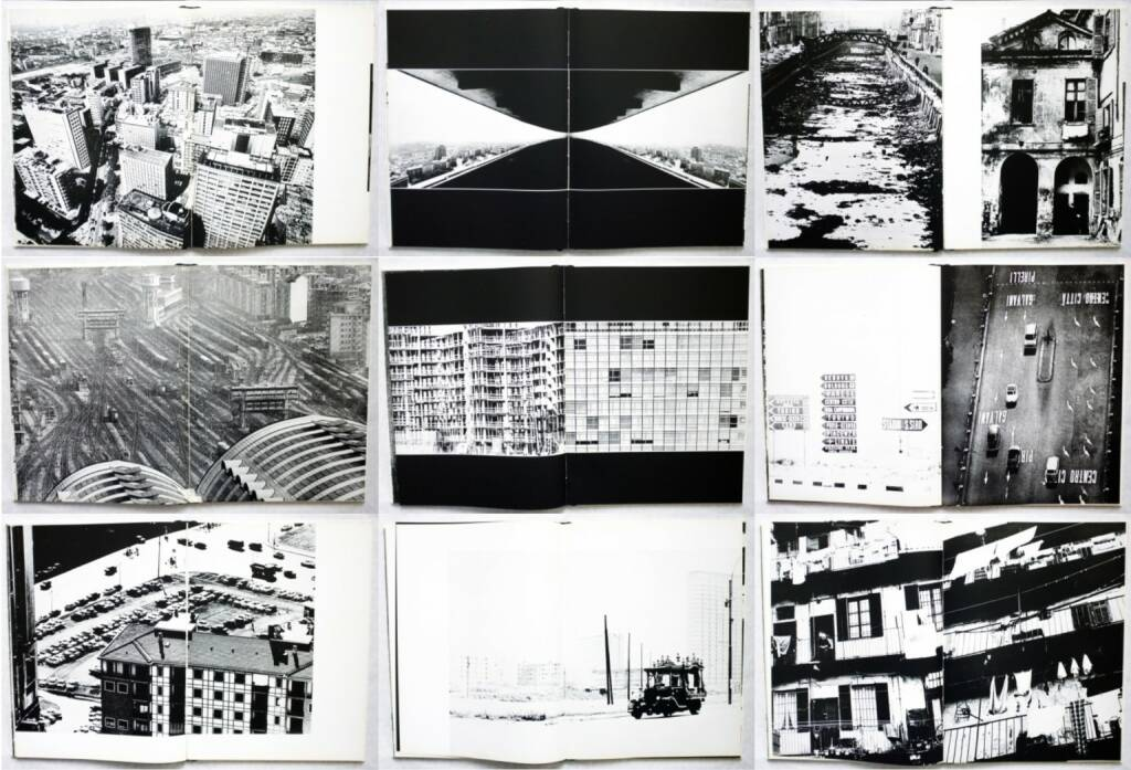 Giulia Pirelli and Carlo Orsi - Milano, Bruno Alfieri Editore 1965, Beispielseiten, sample spreads - http://josefchladek.com/book/giulia_pirelli_and_carlo_orsi_-_milano, © (c) josefchladek.com (29.08.2015)