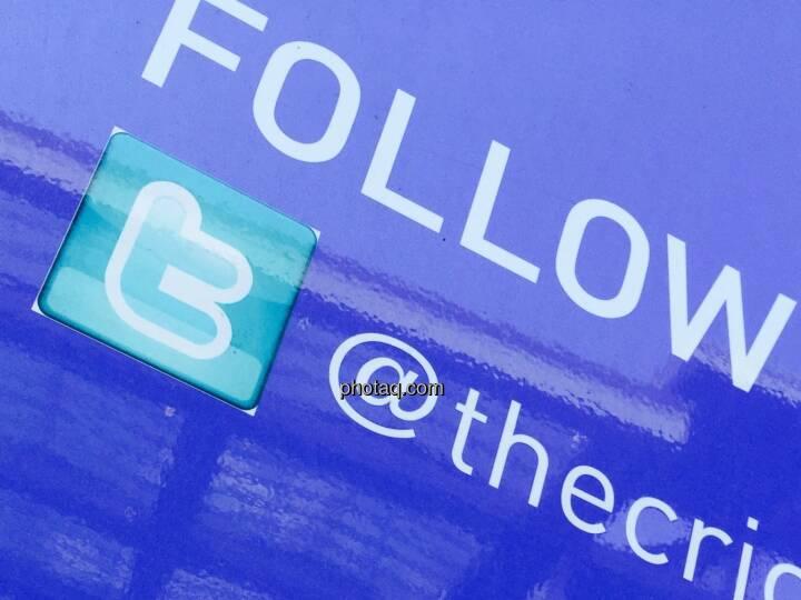 Twitter, Logo, Follow