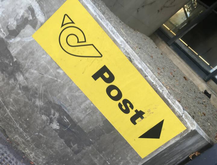 Post fällt