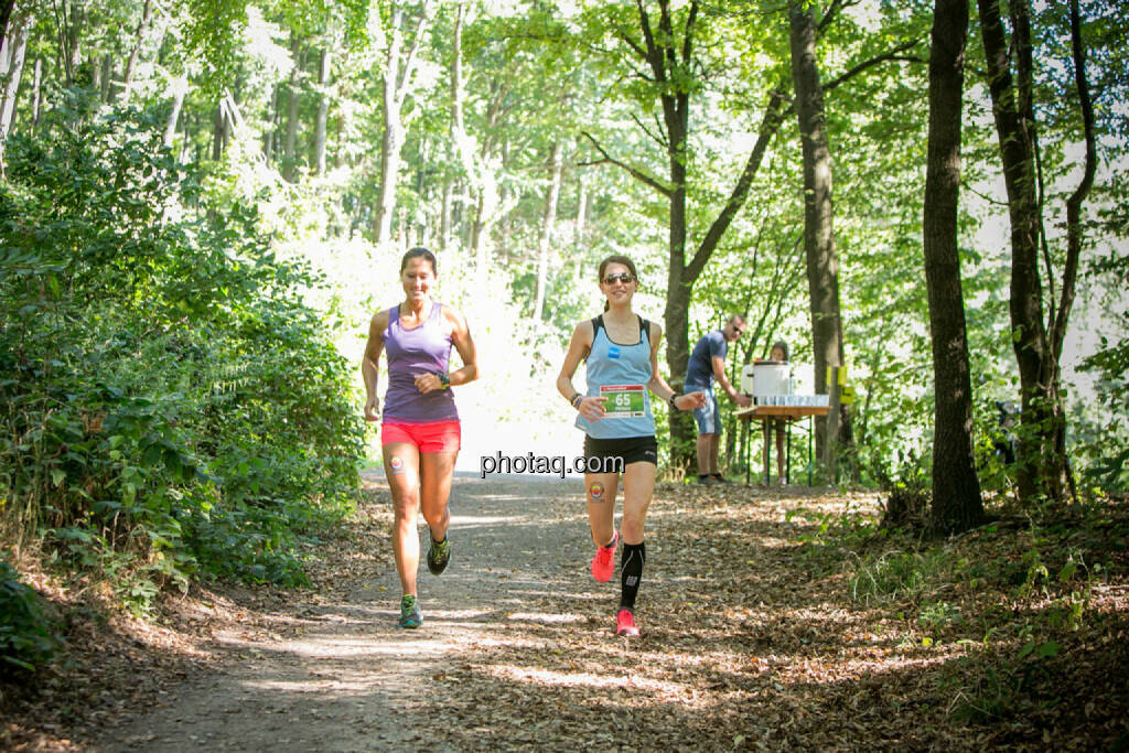 Monika Kalbacher, Melanie Raidl, © photaq/Martina Draper/Josef Chladek (30.08.2015)