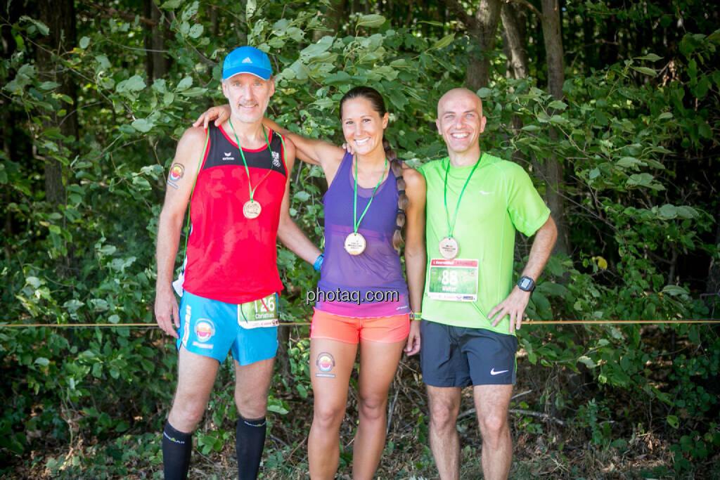 Christian Drastil, Monika Kalbacher, Walter, © photaq/Martina Draper/Josef Chladek (30.08.2015)