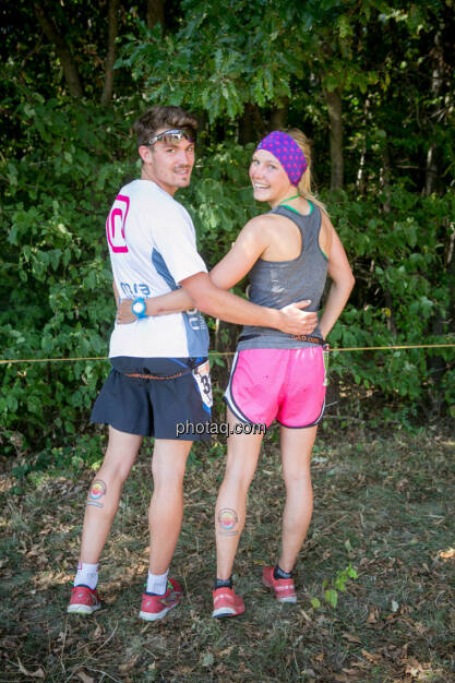 Dominik Wychera (Nora Pure Sports), Sandra Koblmüller, © photaq/Martina Draper/Josef Chladek (30.08.2015)