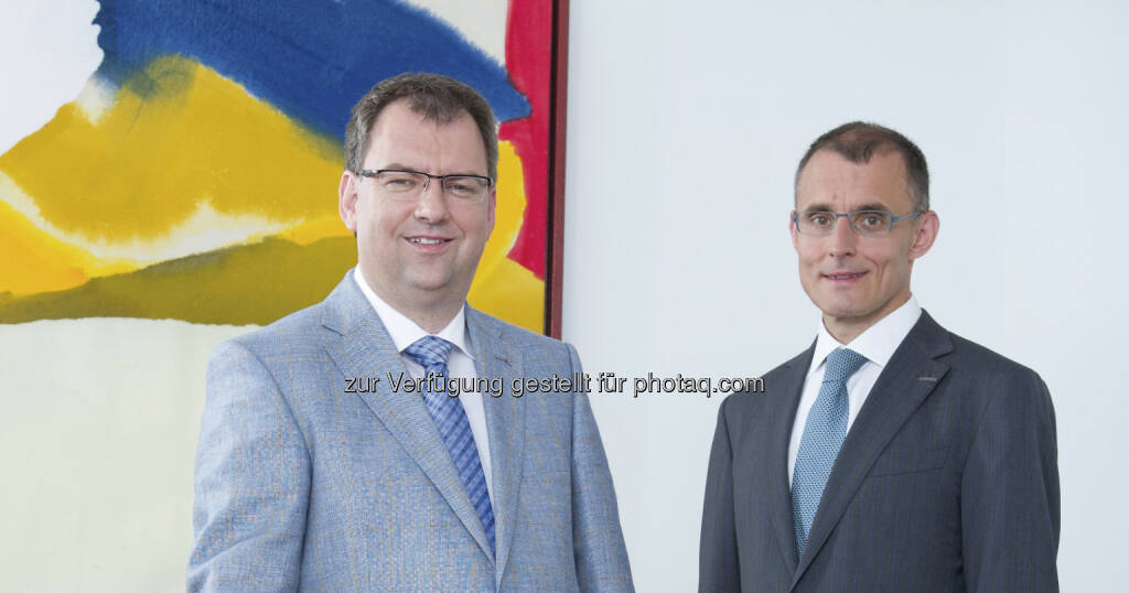 Helmut Fallmann und Leopold Bauernfeind: Der Vorstand der Fabasoft AG informiert über ein Mitarbeiterbeteiligungsprogramm http://www.fabasoft.com/de/sonstige-pflichtmitteilungen.html (c) Fabasoft  (18.03.2013)