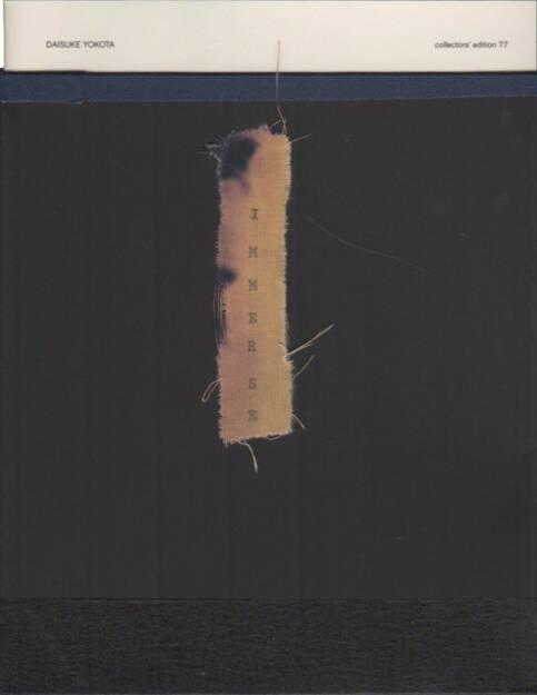 Daisuke Yokota - Immerse (collectors' edition), Akina Books 2015, Cover - http://josefchladek.com/book/daisuke_yokota_-_immerse_1, © (c) josefchladek.com (31.08.2015)