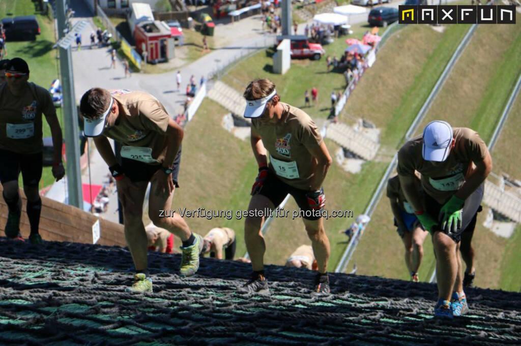 Red Bull 400, aufwärts, hinaus, anstrengend, schwierig, schwer, © MaxFun Sports (31.08.2015)