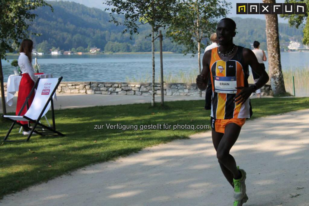 Kärnten läuft, Francis Ekidor Erain (KEN), Runtogether, © MaxFun Sports (31.08.2015)