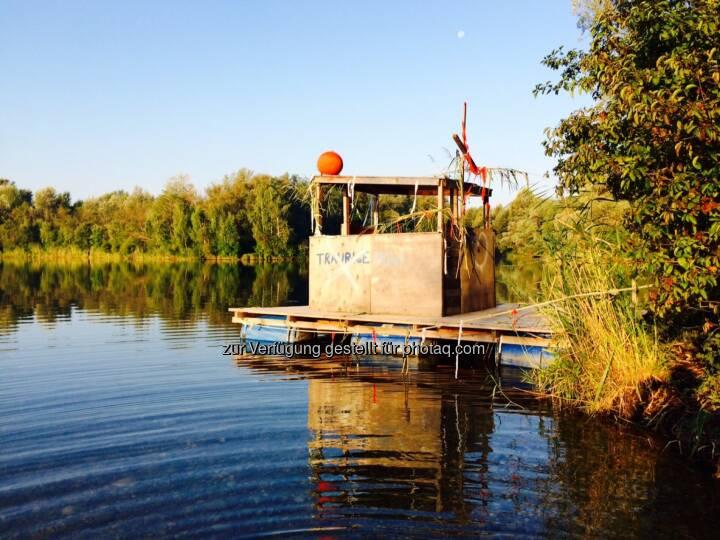Floß, Boot, Wasser, schwimmen