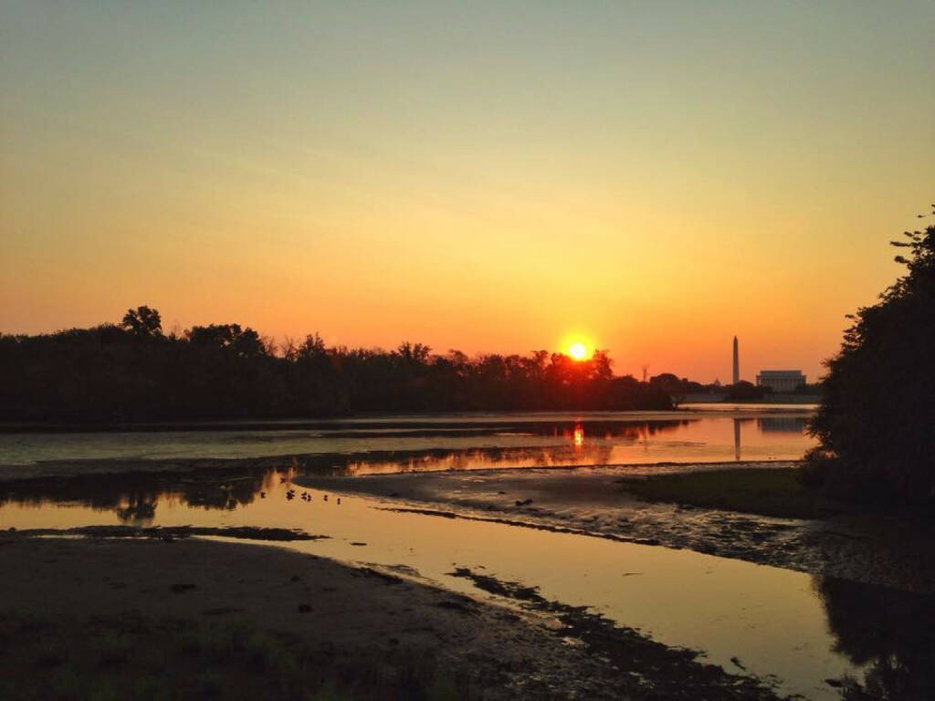 Sonnenaufgang, Washington DC, USA, https://www.facebook.com/kalbacher.monika, © Diverse  (02.09.2015)