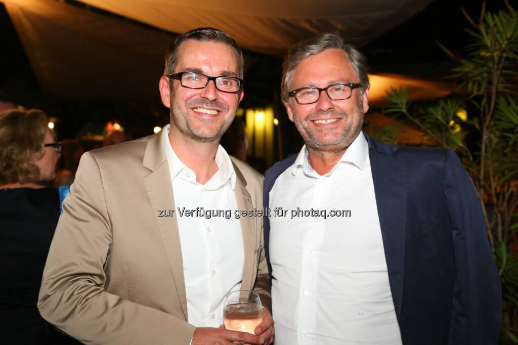Clemens Pig (APA), Alexander Wrabetz (ORF), © APA/Ludwig Schedl  (02.09.2015)