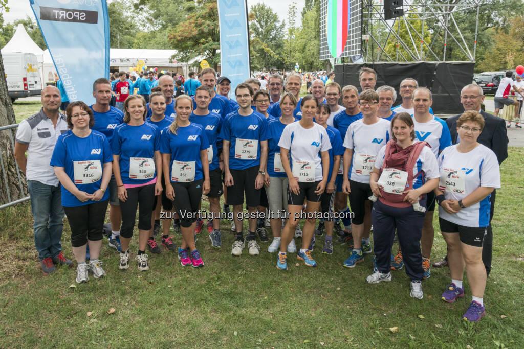Das Auva-Team mit Obmann Anton Ofner, Obmannstv. Wolfgang Birbamer und Obmannstv. Werner Gohm : © Auva/R.Reichhart (03.09.2015)