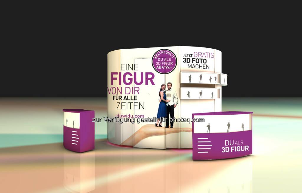 Die 3D Elements Machine: die Revolution des 3D Scanners : 3D Elements präsentiert revolutionäres 3D Fotostudio auf der IFA : Für jedermann an jedem Ort bedienbar - die 3DE Technologie macht's möglich : Fotocredit: 3D Elements, © Aussendung (03.09.2015)