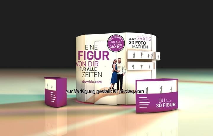 Die 3D Elements Machine: die Revolution des 3D Scanners : 3D Elements präsentiert revolutionäres 3D Fotostudio auf der IFA : Für jedermann an jedem Ort bedienbar - die 3DE Technologie macht's möglich : Fotocredit: 3D Elements