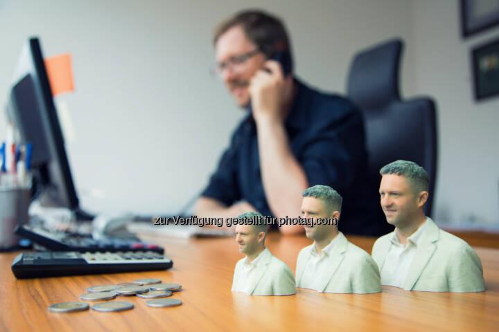 Duwidu werden die 3D Figuren von 3D Elements genannt - sie sind einzigartige Erinnerungsstücke : 3D Elements präsentiert revolutionäres 3D Fotostudio auf der IFA : Fotocredit: 3D Elements