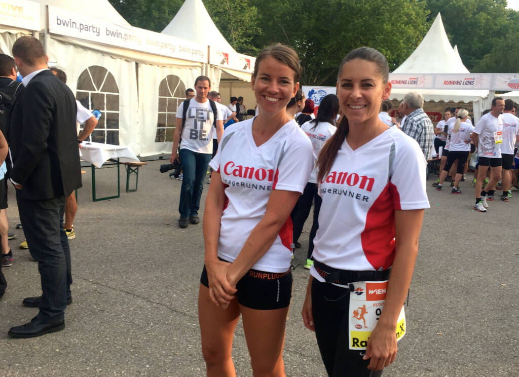 Canon beim Wien Energie Business Run 2015 (03.09.2015)