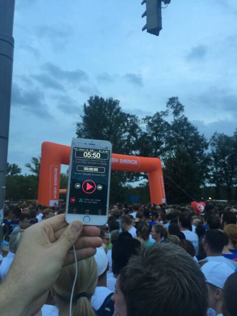 Runplugged App beim Wien Energie Business Run 2015 (03.09.2015)