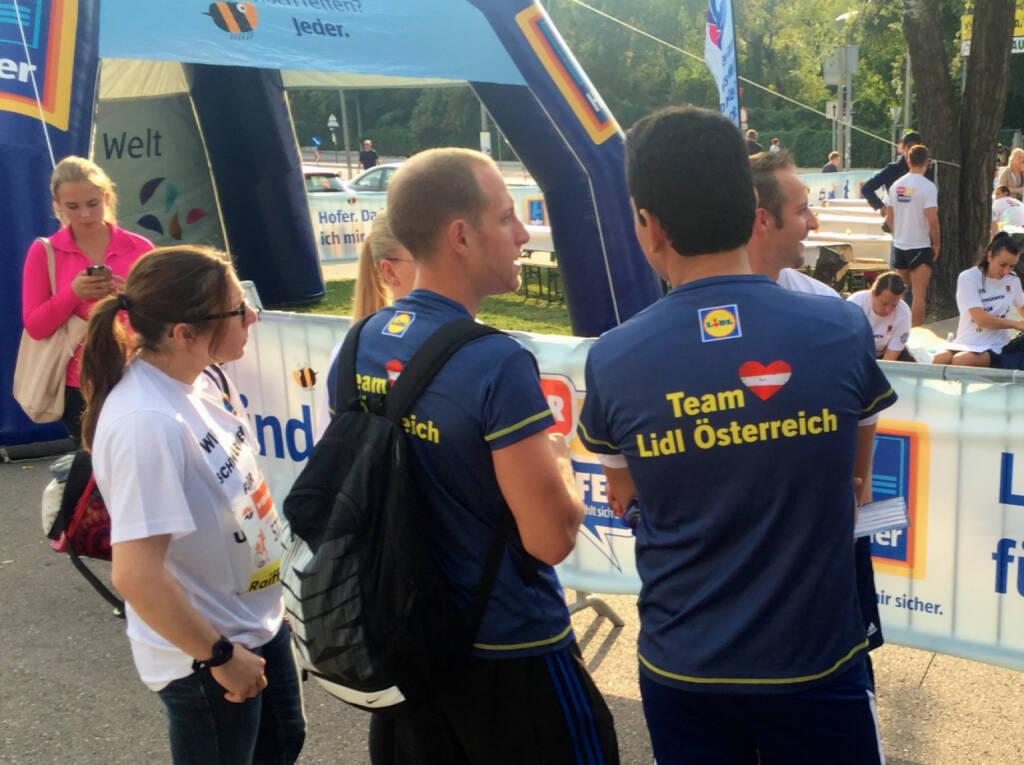 Lidl Österreich beim Wien Energie Business Run 2015 (03.09.2015)