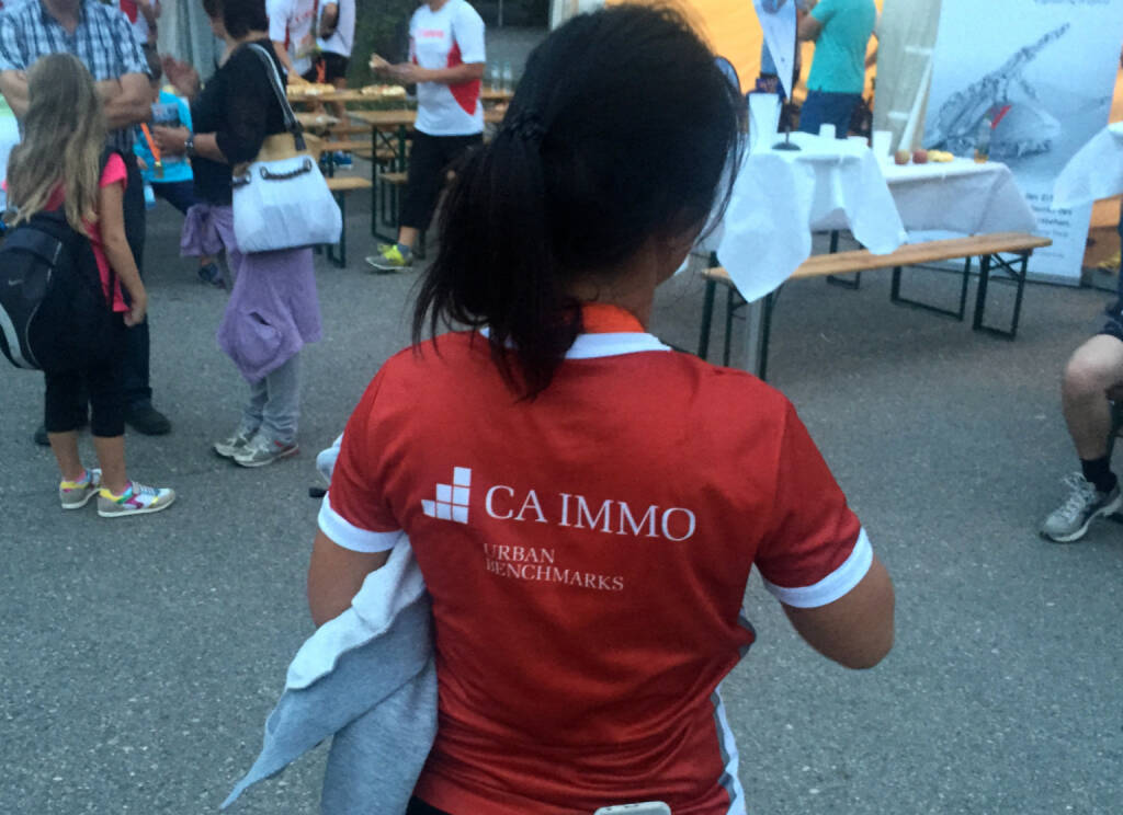 CA Immo beim Wien Energie Business Run 2015 (03.09.2015)