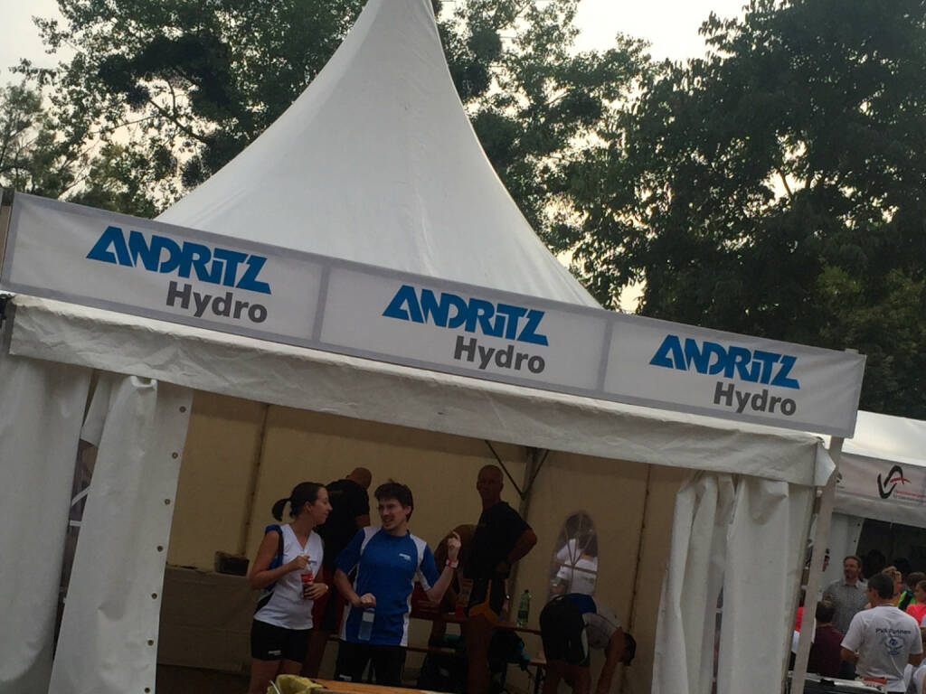 Andritz Hydro beim Wien Energie Business Run 2015 (03.09.2015)