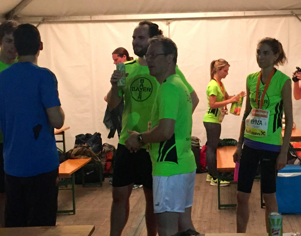 Bayer beim Wien Energie Business Run 2015 (03.09.2015)