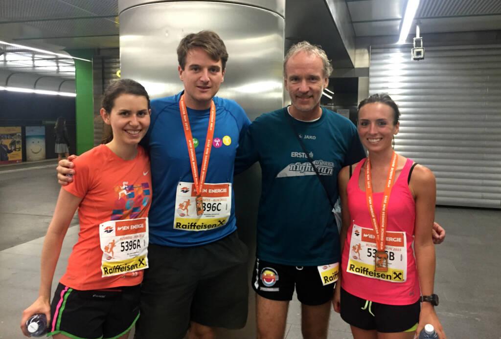 Anna Ladenstein, Maxi Nimmervoll, Christian Drastil, Lorena Leimberger  (03.09.2015)