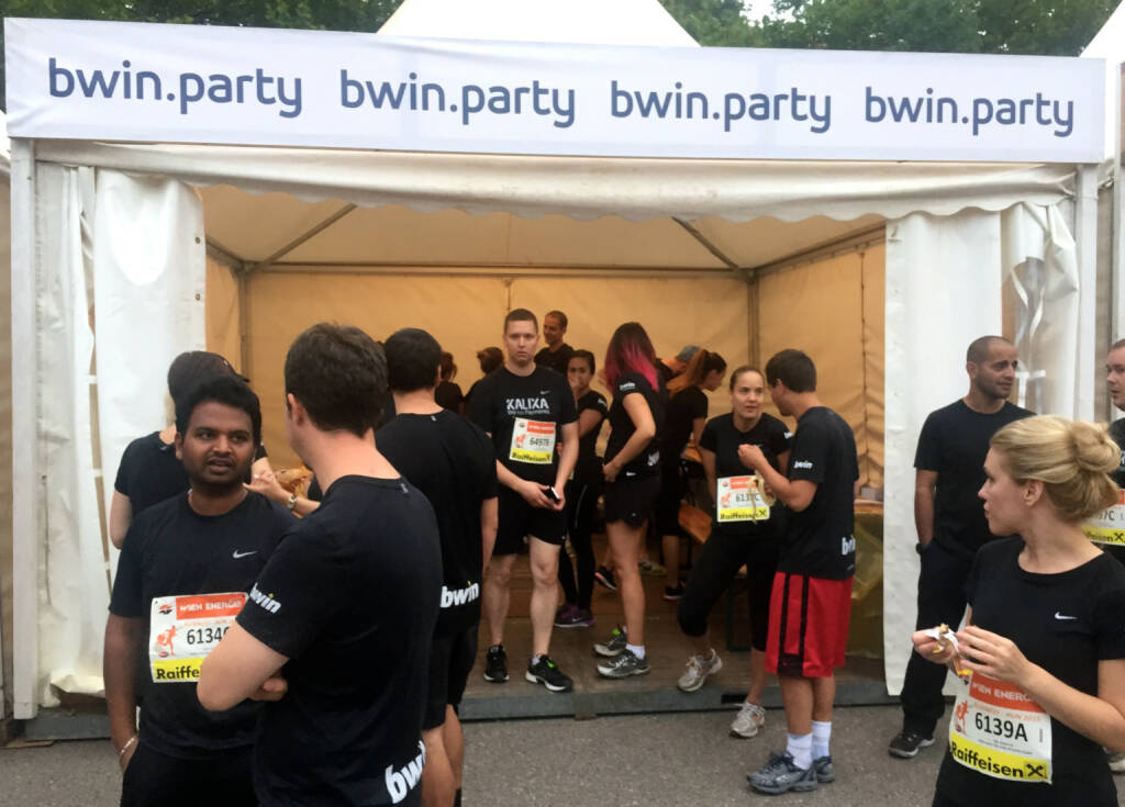 bwin.party beim Wien Energie Business Run 2015 (03.09.2015)