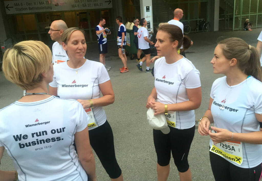 Wienerberger beim Wien Energie Business Run 2015 (03.09.2015)